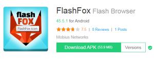 flashfox for PC