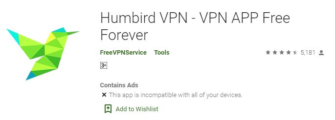 humbird-vpn-for-pc-free