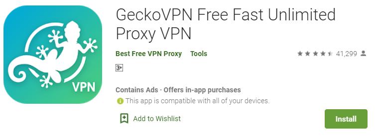 Gecko VPN