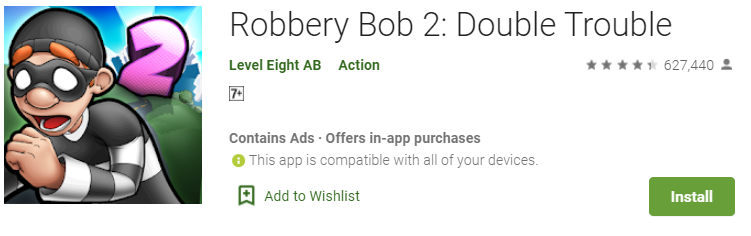 Robbery Bob 2 for Pc