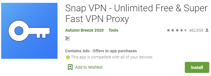 Snap VPN for PC